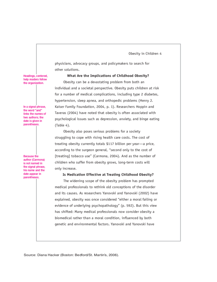 apa research paper example  4 apa research paper example