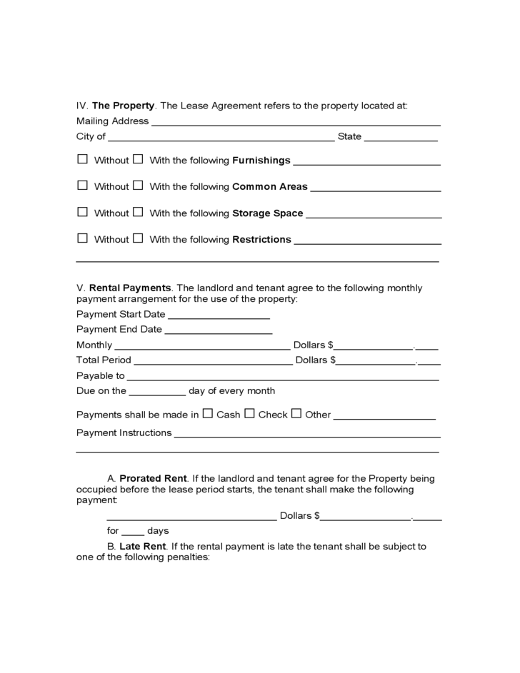 Arkansas Residential Lease Agreement Free Download