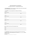 Wyoming Residential Lease Agreement
