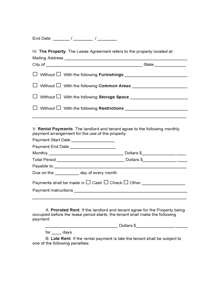 Rental Lease Agreement Virginia Image Collections Agreement Letter