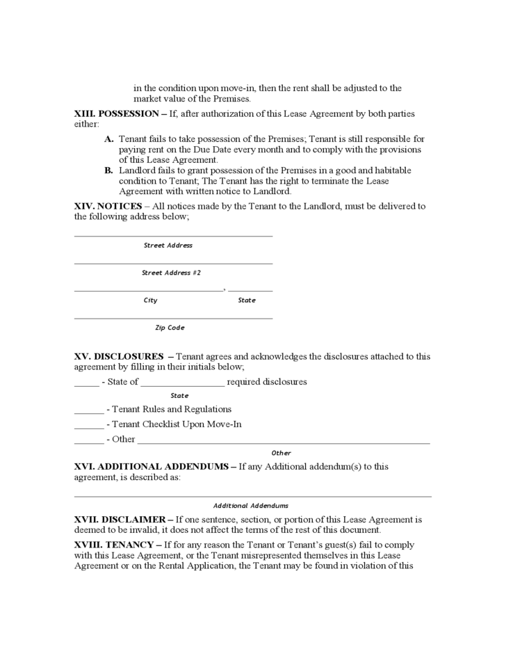 New mexico standard residential lease agreement free download 6 new mexico standard residential lease agreement platinumwayz