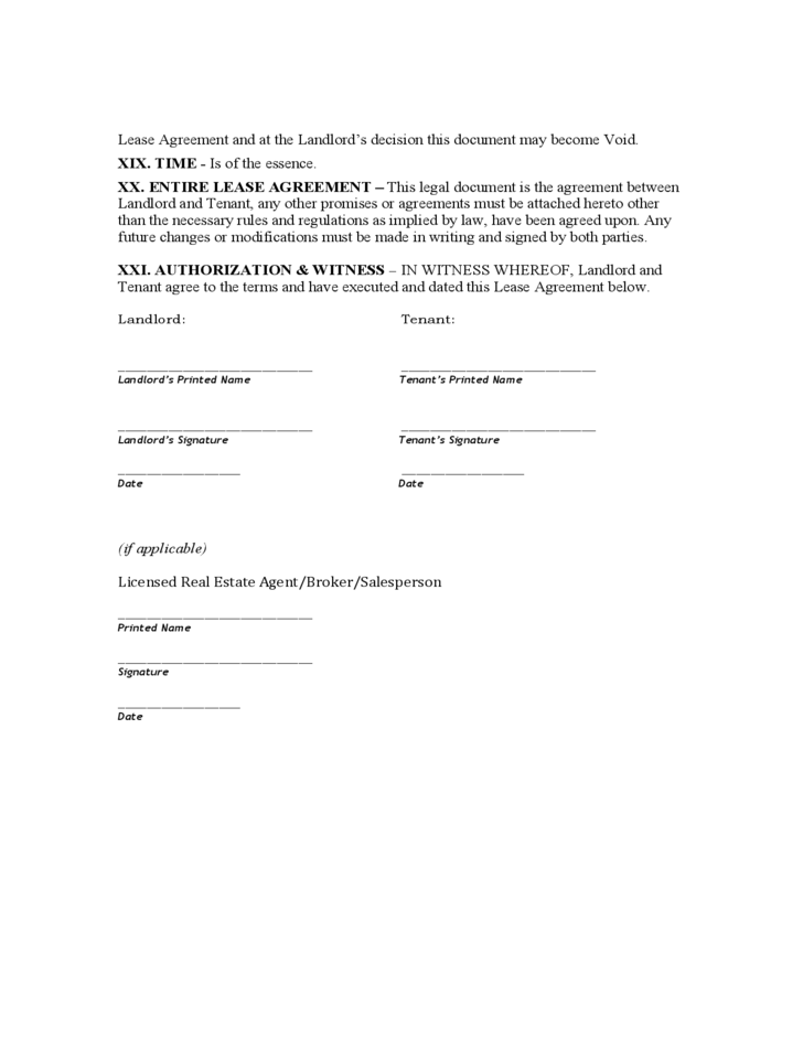 colorado standard residential lease agreement free download