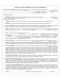 North Carolina Standard Residential Lease Agreement
