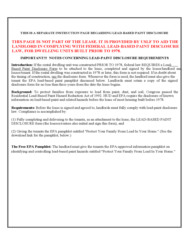 Residential Lease Agreement Georgia Free Download