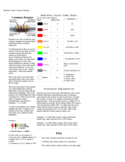 Resistor Color Codes and Primer Chart Free Download