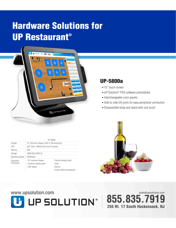 Up restaurant brochure template free download