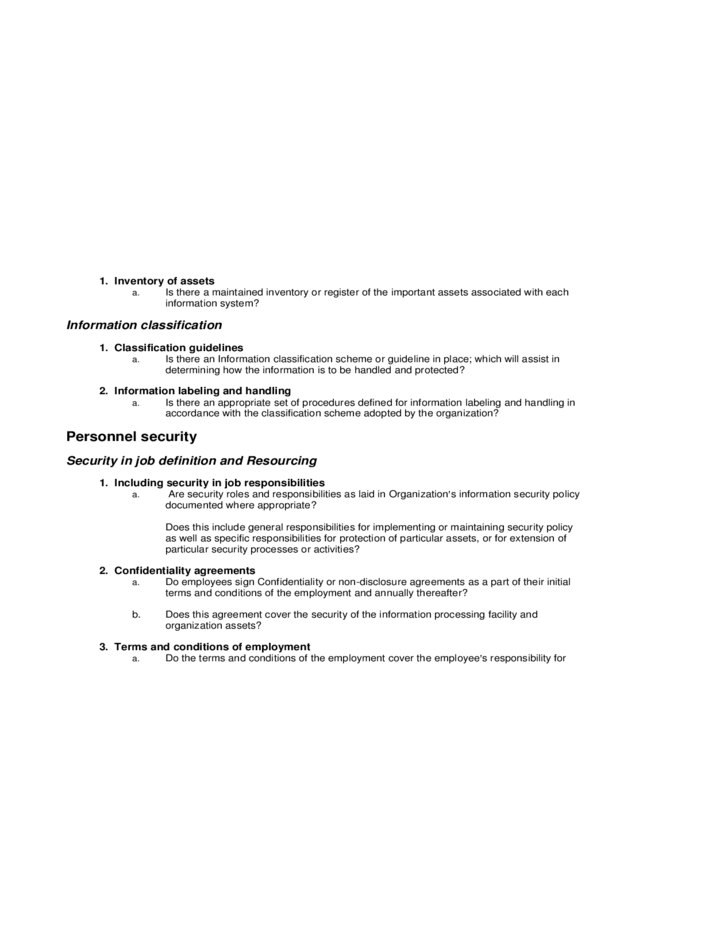 IT Review U0026 Network Health Assessment Template Report