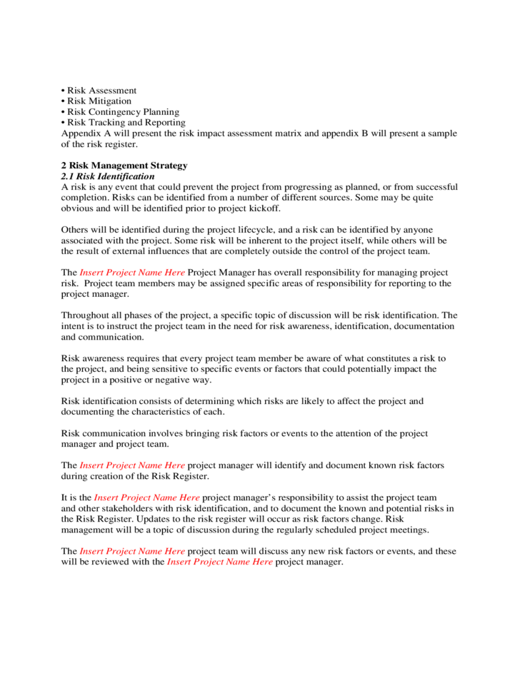 Supervision Plan Sample Form Pictures to Pin PinsDaddy – Risk Management Plan Template