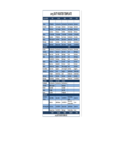 2015 Duty Roster Template Free Download