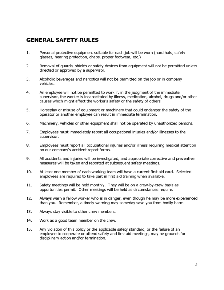 safety committee guidance for logging free download
