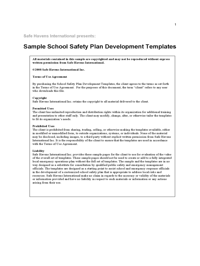 Safety plan template 4 free templates in pdf word for Safety plan template for suicidal clients