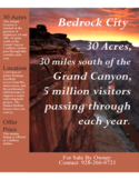 Sales Brochure - Flintstones Bedrock City Free Download