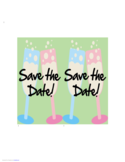 Save the Date Postcard Free Download
