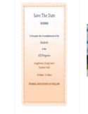 Formal Save The Date Card Free Download