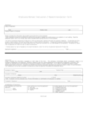 Graduate School Evaluation / Recommendation Form Free Download