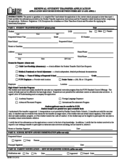 Renewal Student Transfer Application - Fairfax Free Download