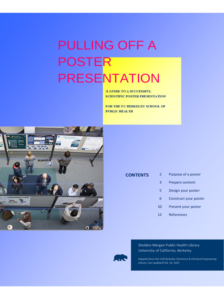 Pulling Off A Poster Presentation Free Download