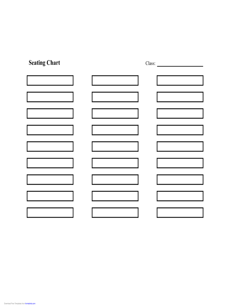 Seating Chart Template 7 Free Templates In Pdf Word
