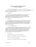 Premier Certified Lenders Program Security Agreement - U. S. Small Business Administration Free Download