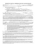 Residential Rental Agreement Free Download