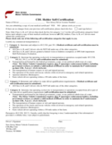 CDL Holder Self-Certification - New Jersey Free Download