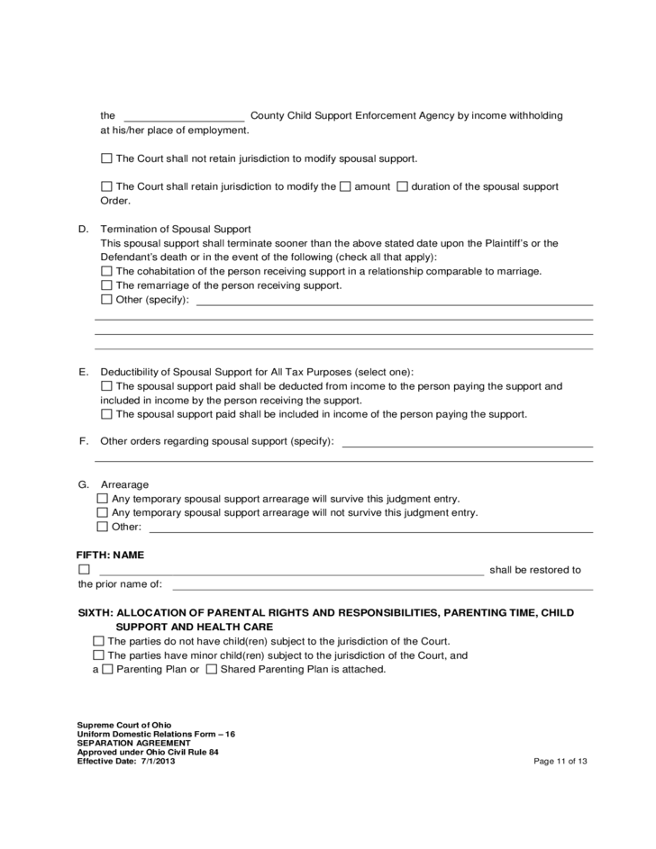 Ohio separation agreement images agreement letter format separation agreement supreme court ohio free download 11 separation agreement supreme court ohio platinumwayz platinumwayz