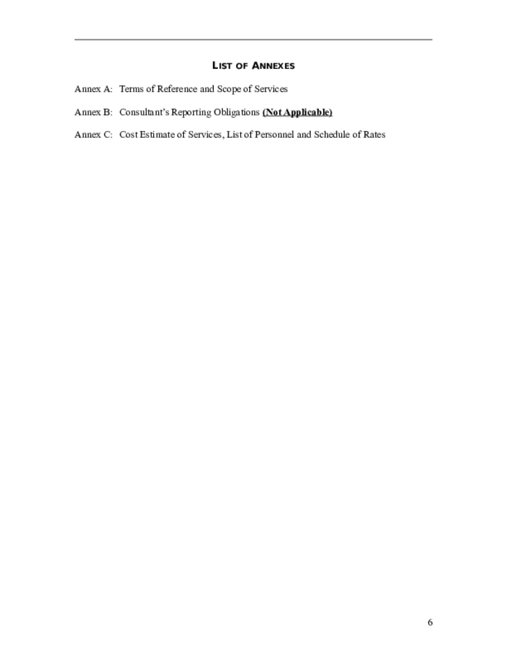 Consulting Service Sample Contract