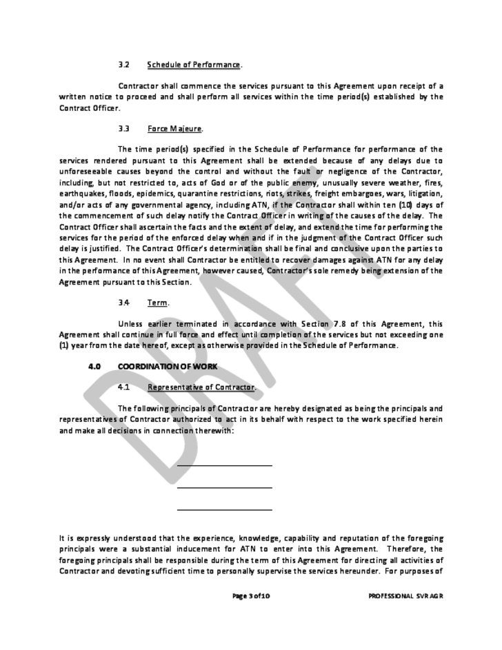 Professional Services Agreement Free Download – Professional Services Agreement Template