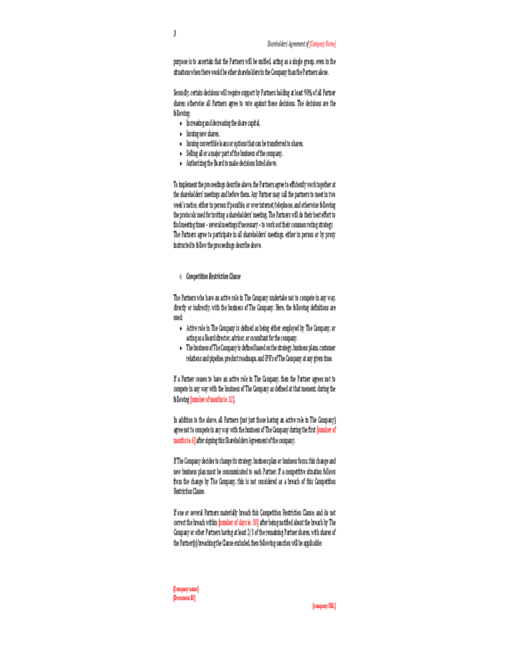 Generous shareholder agreement template free gallery example sample shareholder agreements meukl platinumwayz