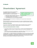 Shareholders' Agreement Guide Free Download