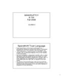Spendthrift Trust Language Free Download