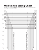 Men's Shoe Sizing Chart Free Download