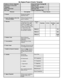 Six Sigma Project Charter Sample Free Download