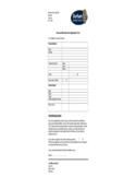 Park and Ride Smart Card Application Form Free Download