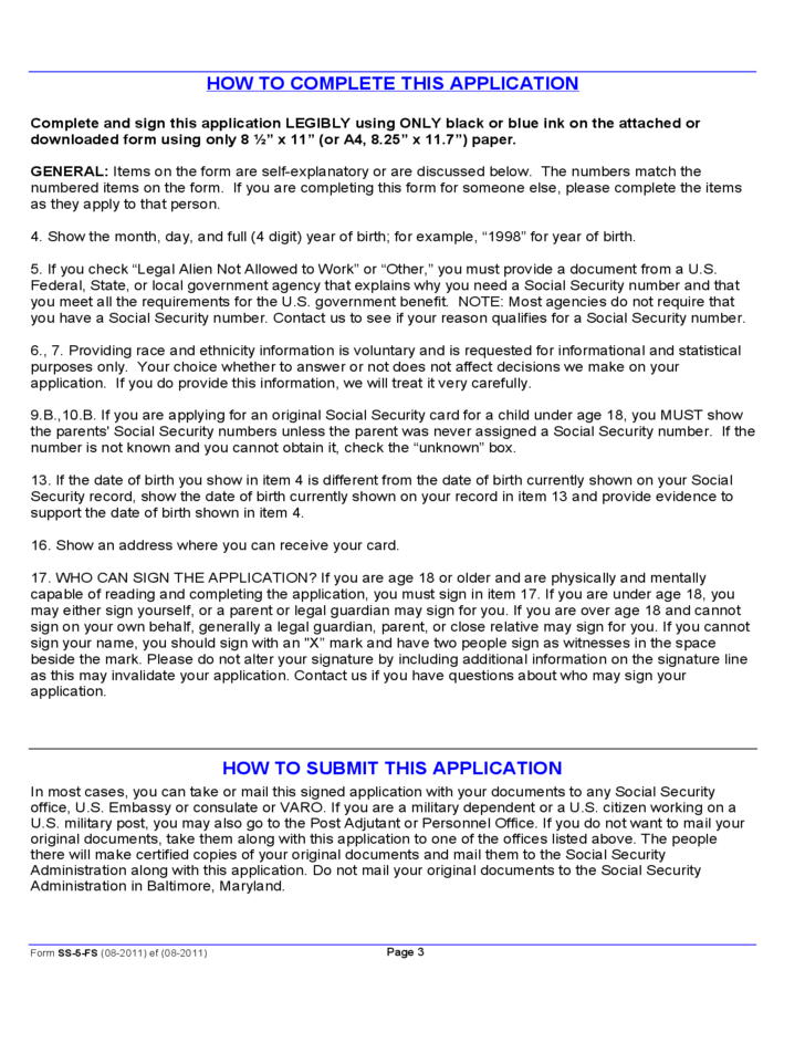 Watch more like Social Security Application Form 827 – Social Security Application Form