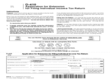 Application for Extension for Filing Individual Income Tax Return
