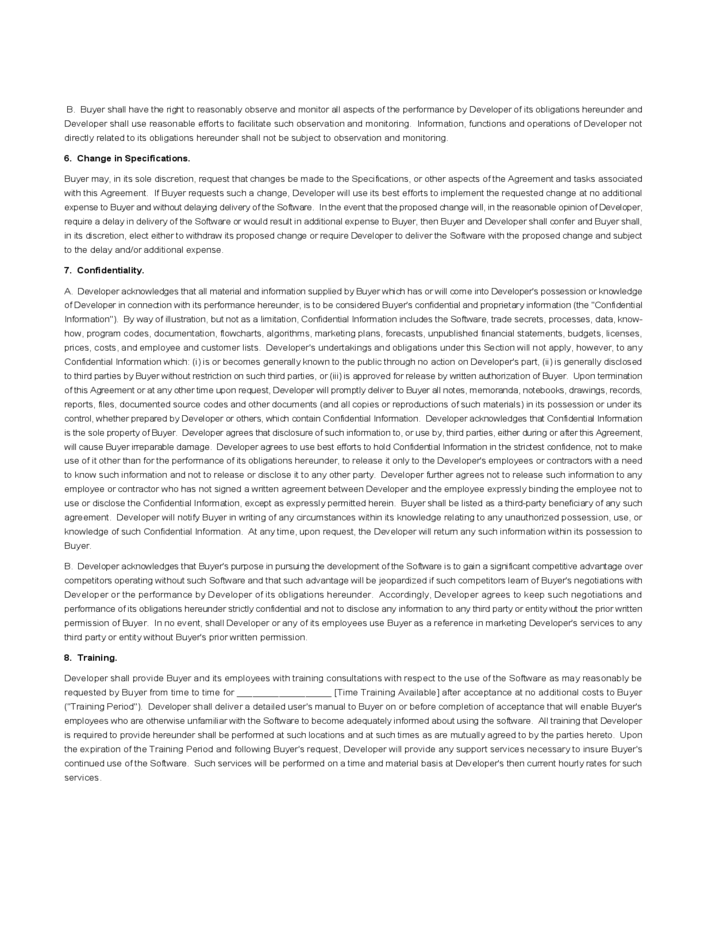 software development agreement template free download