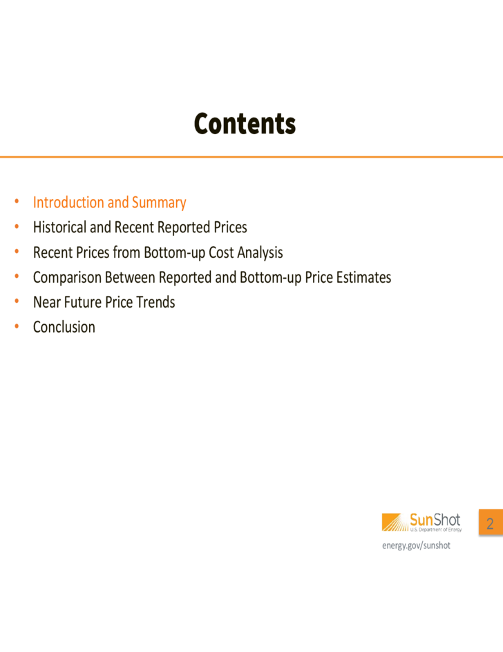 Photovoltaic System Pricing Trends Free Download