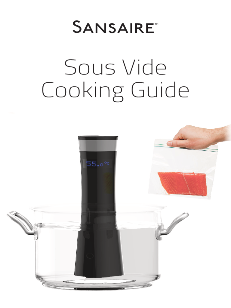 Sous Vide Cooking Chart Template