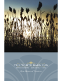 Spa Menu of Service - the White Barn Inn Free Download