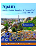 2014 Spain Brochure Free Download