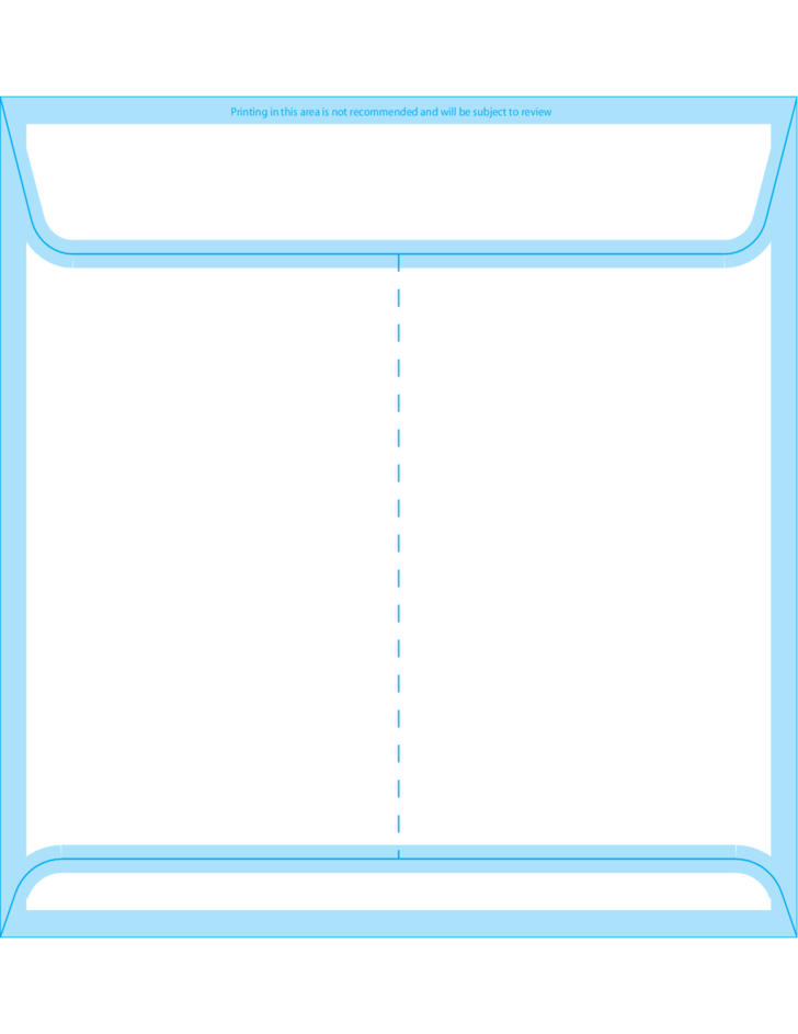 Square envelopes 8 x 8 back free download for 6 x 8 envelope template