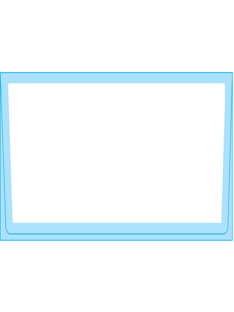 Square Flap Envelopes 2 7/8 x 6 1/2 - Back