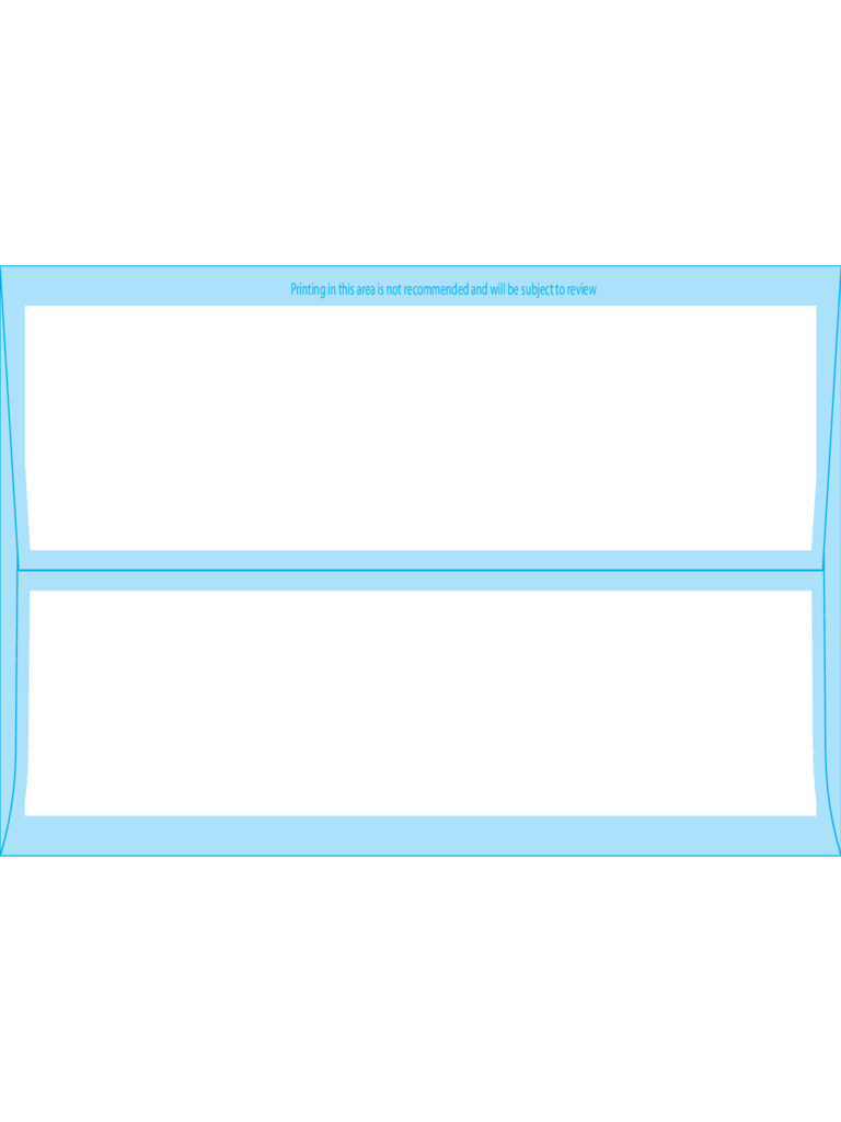 Square Flap Envelopes #9 (3 7/8 x 8 7/8) - Back