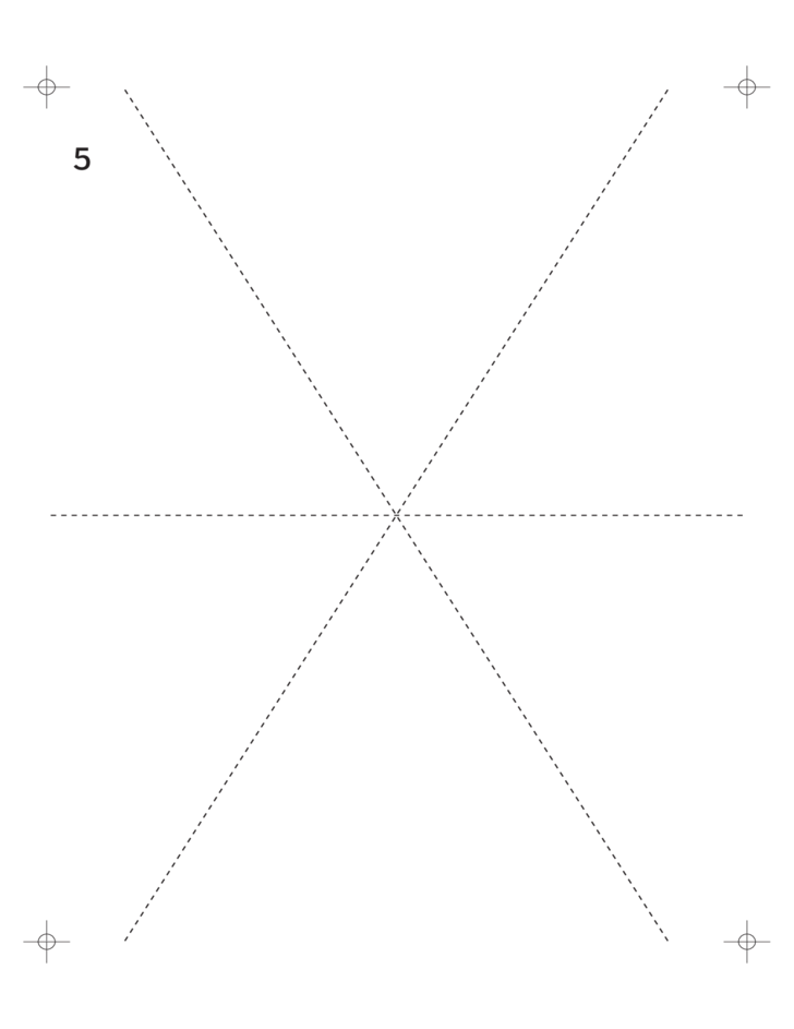six pointed star template pdf