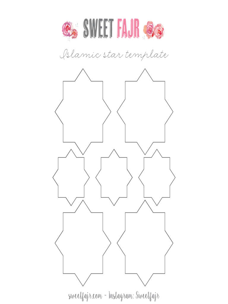 Islamic Star Template Free Download