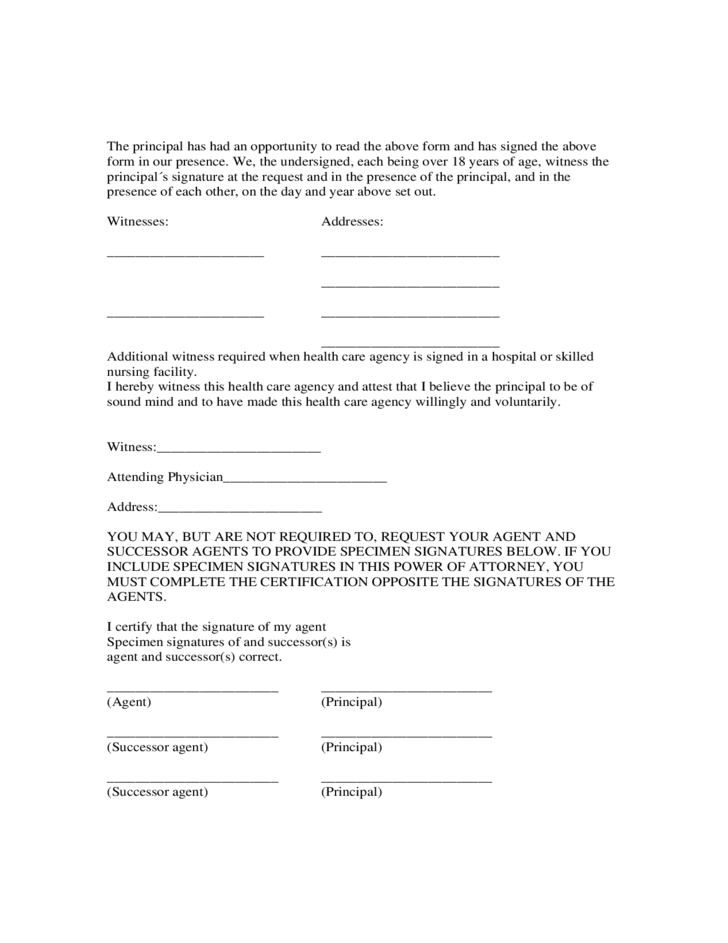 Uk Power Of Attorney Form Image Collections Free Form Design Examples