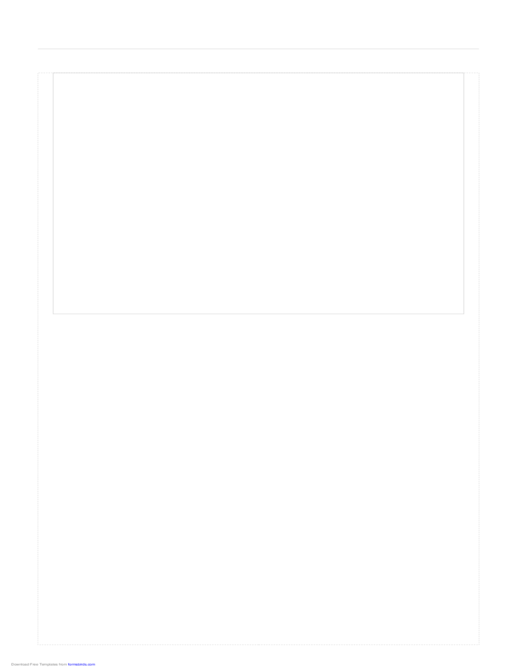 Storyboard with 1x1 Grid of 4:3 (Full Screen) Screens on Legal Paper