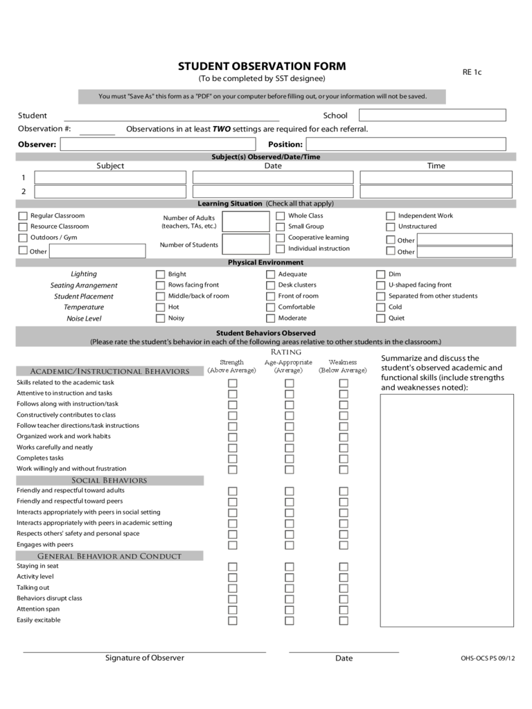 teacher interview and observation on lesson implementation Inside the classroom: teacher interview protocol – page 1 may 2003  can i  have a copy of the instructional materials you used for this lesson [specify   implementation, content, and/or appropriateness for many students in the class.