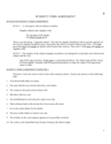 Example of Subject Verb Agreement Practice Free Download